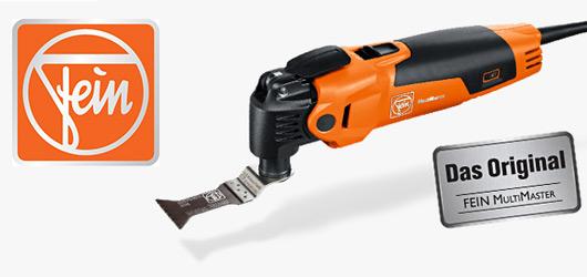 Fein : FEIN est l'un des leaders sur le marché mondial des outils électriques, connu spécialement pour son Multimaster. L'outil performant qui permet de couper, scier, poncer, rapper, racler, limer avec un seul et même appareil.